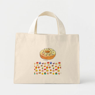 bakery time mini tote bag
