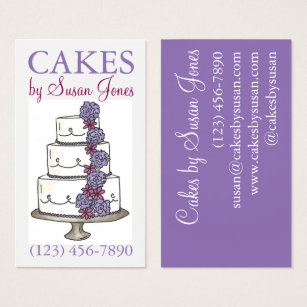 Cake decorating business cards business card printing zazzle uk bakery wedding cake decorating decorator pastry business card colourmoves
