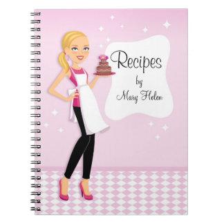 Baking and Cake Decor Classes Custom Notebook