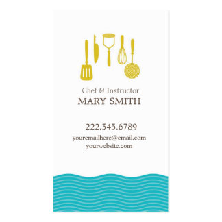 Baking Business Card Personal Shopper Business Car