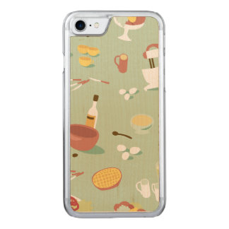 Baking Cake and Pies in the Kitchen Carved iPhone 7 Case