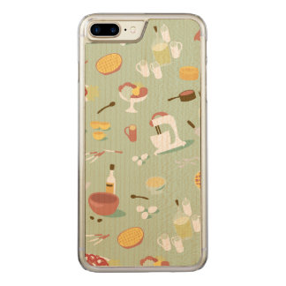 Baking Cake and Pies in the Kitchen Carved iPhone 7 Plus Case
