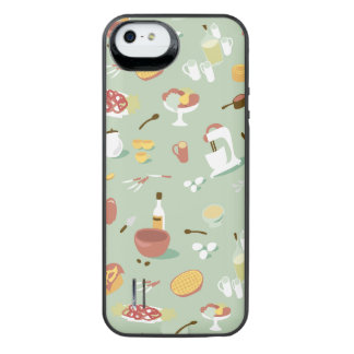 Baking Cake and Pies in the Kitchen iPhone SE/5/5s Battery Case