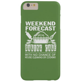 BAKING CAKE BARELY THERE iPhone 6 PLUS CASE