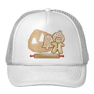 Baking Christmas Cookies Hat