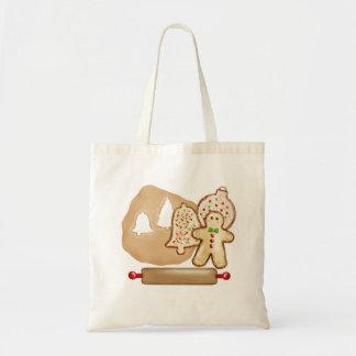 Baking Christmas Cookies Tote Bag