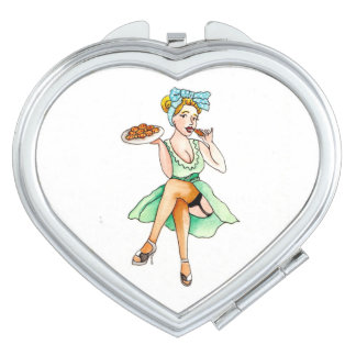 Baking Cookies Compact Mirror