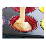 Baking Cupcakes Postcard