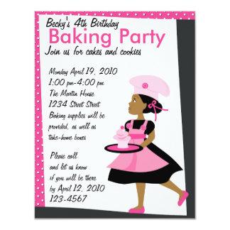 Baking Cutie 11 Cm X 14 Cm Invitation Card