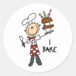 Baking Gift Round Stickers