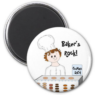 Baking In Style Magnet