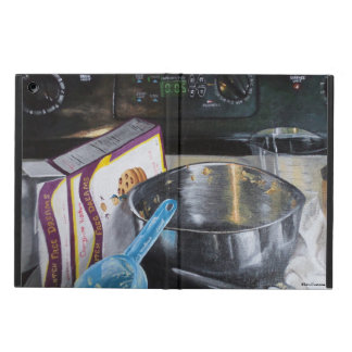 Baking In the Kitchen Acrylic Painting iPad Case