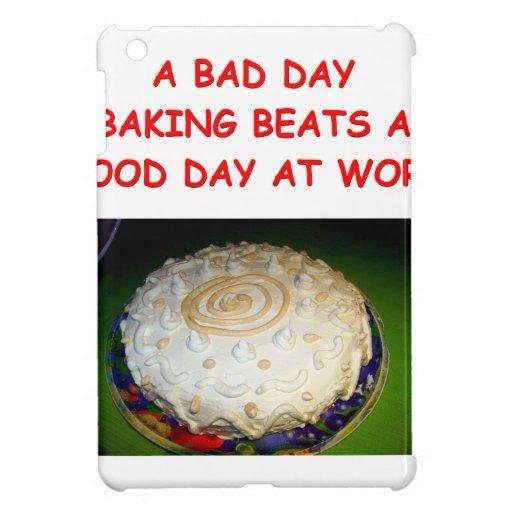 baking iPad mini cover