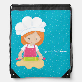 Baking is fun * choose your background color rucksack