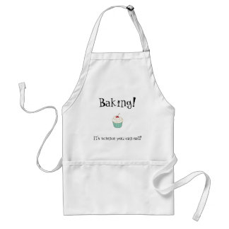 Baking! It's science you can eat! Aprons