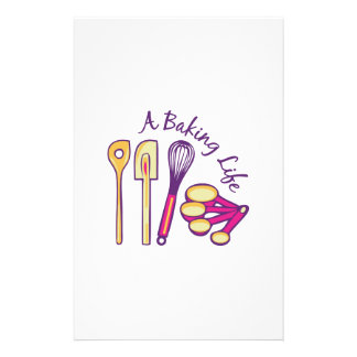 Baking Life Stationery Paper