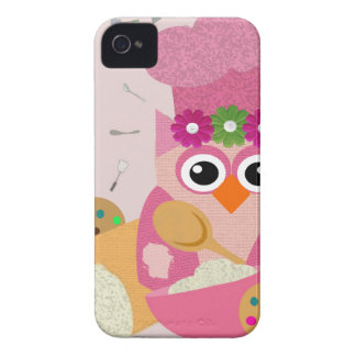 Baking Owl iPhone 4 Case-Mate Case