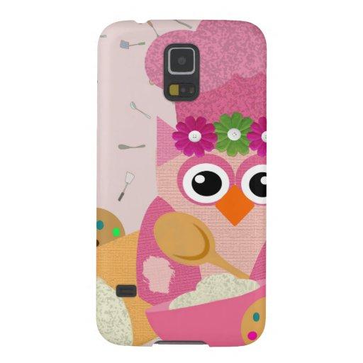 Baking Owl Samsung Galaxy Nexus Cases