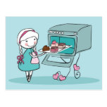 Baking Postcard