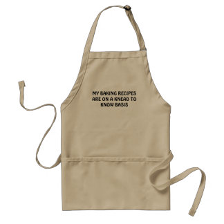 Baking Recipes Knead to Know Basis Standard Apron