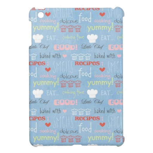 Baking time words case for the iPad mini