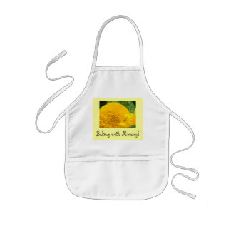 Baking with Mommy! Kid's aprons Summer Sunflower
