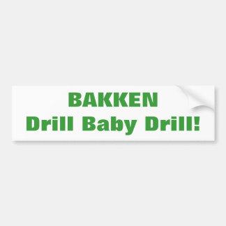 BAKKEN Bumper Sticker
