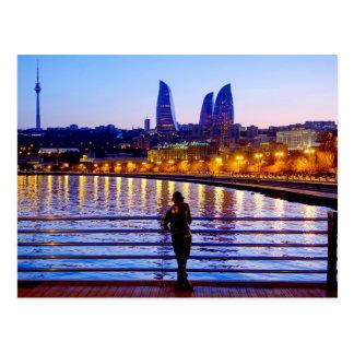 Baku Pier Postcard