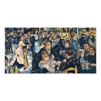 Bal Du Moulin De La Galette By Pierre-Auguste Reno Picture Card