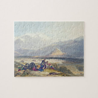 Bala Hissar and City of Kabul with the British Can Jigsaw Puzzle