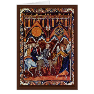 Balaam'S Ass By Meister Des Ludwig-Psalters (Best Greeting Card