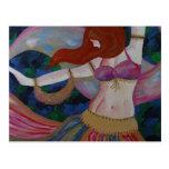 Baladi, Belly Dancer Beautiful Art Postcards