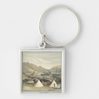 Balaklava, Looking Towards the Sea, plate from 'Th Silver-Colored Square Key Ring