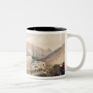 Balaklava, plate from 'The Seat of War in the East Two-Tone Coffee Mug