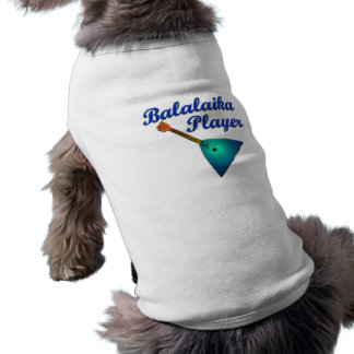 Balalaika Player Pet Shirt