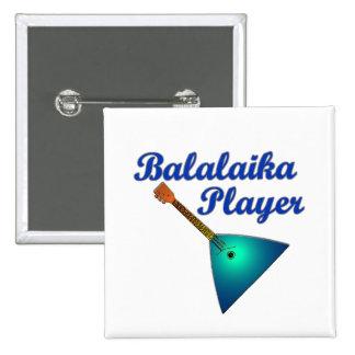 Balalaika Player Pin