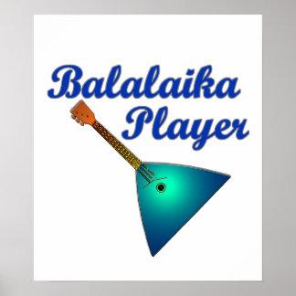 Balalaika Player Poster