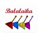 Balalaika Postcard