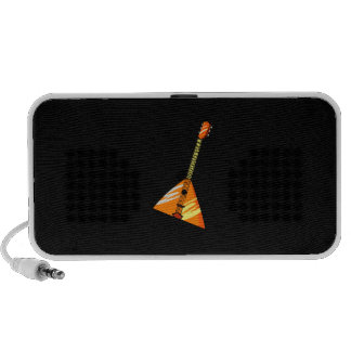 Balalaika stringed instrument graphic image iPod speaker