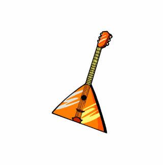 Balalaika stringed instrument graphic image standing photo sculpture