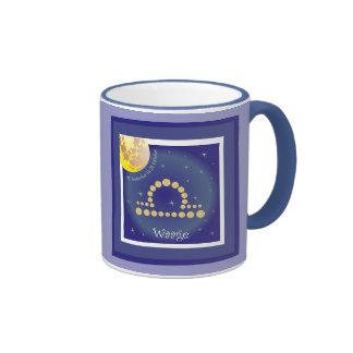 Balance 24 September until 23 October cup Ringer Mug