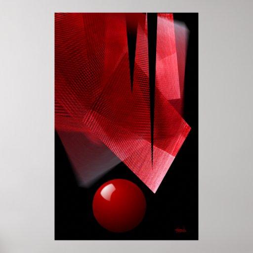 """Balance"" Abstract Poster"