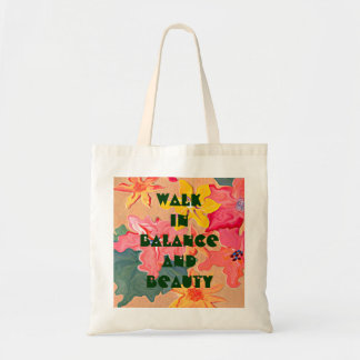 balance and beauty tote bags