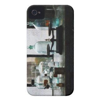 Balance and Bottles in Chem Lab Blackberry Case