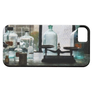 Balance and Bottles in Chem Lab iPhone 5 Cases