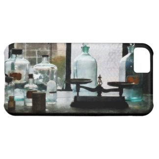 Balance and Bottles in Chem Lab iPhone 5C Cover