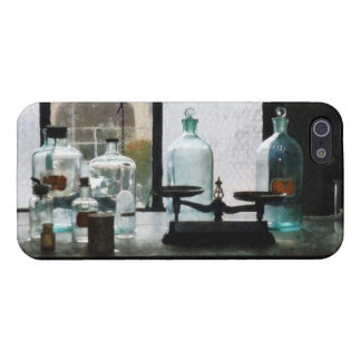 Balance and Bottles in Chem Lab Cases For iPhone 5