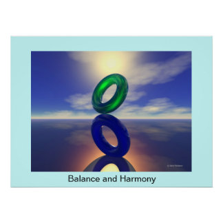 Balance and Harmony Poster