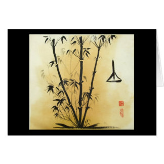 Balance Bamboo Greeting Card