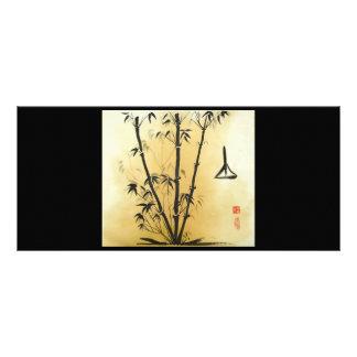 Balance Bamboo Rack Card